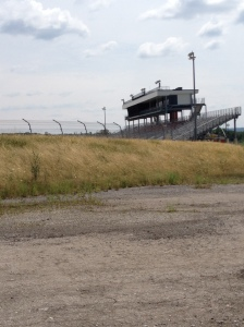Turn 4 and the grandstands